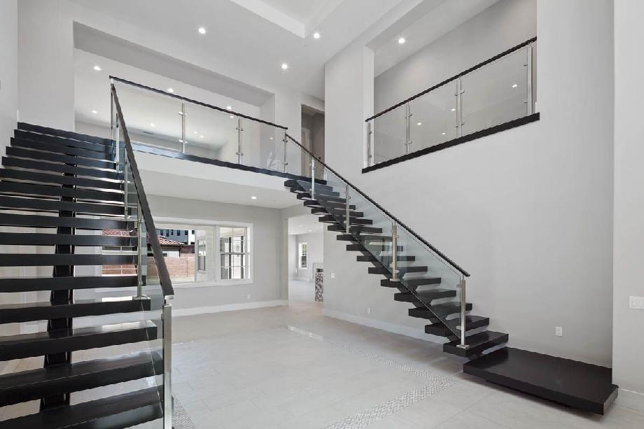 Entry, Floating Staircase