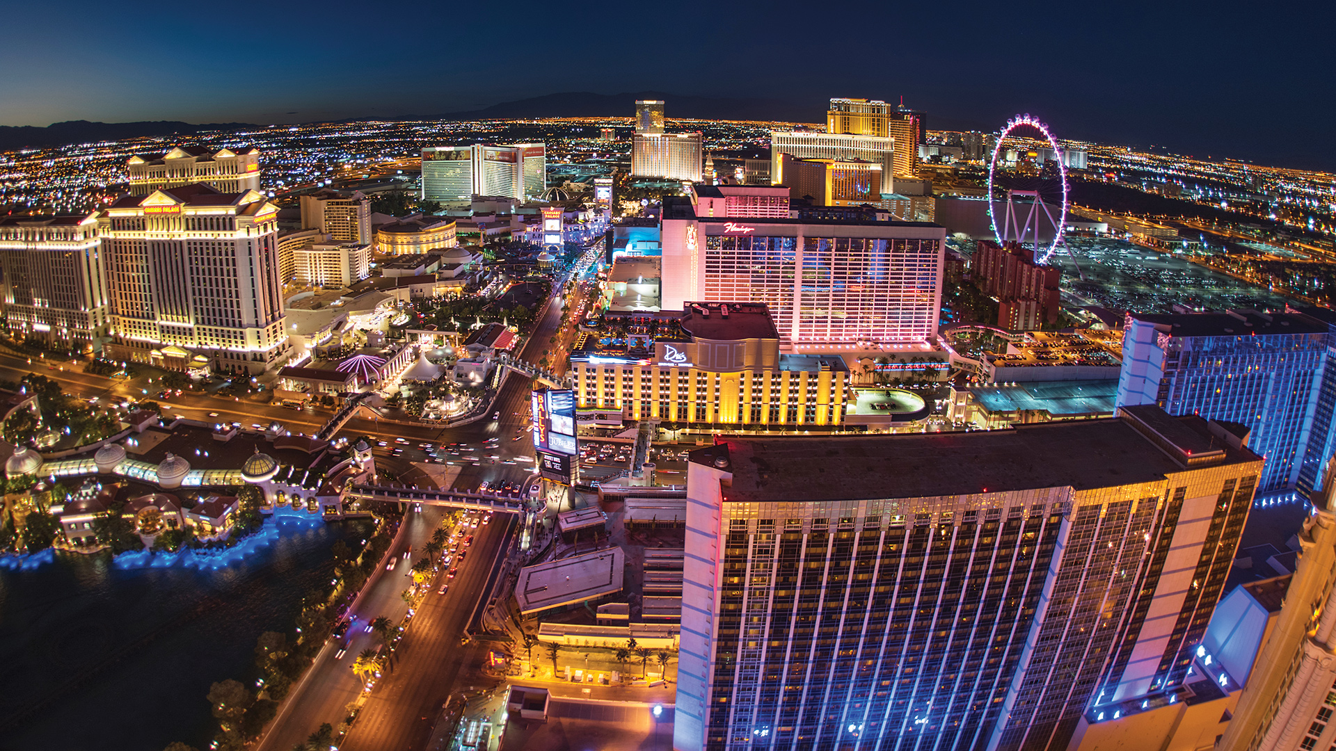Convenient to the exciting Las Vegas Strip with fine dining, world-class entertainment, and gaming