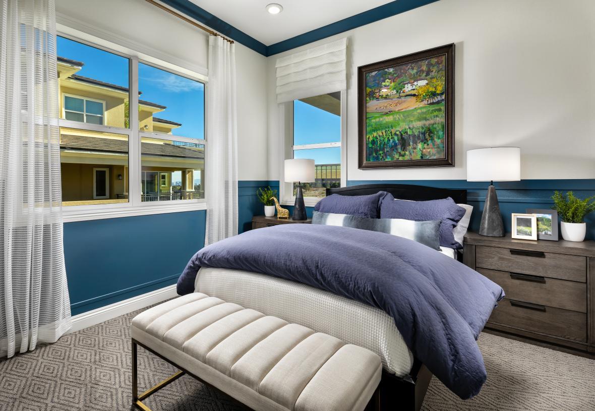 Spacious secondary bedroom