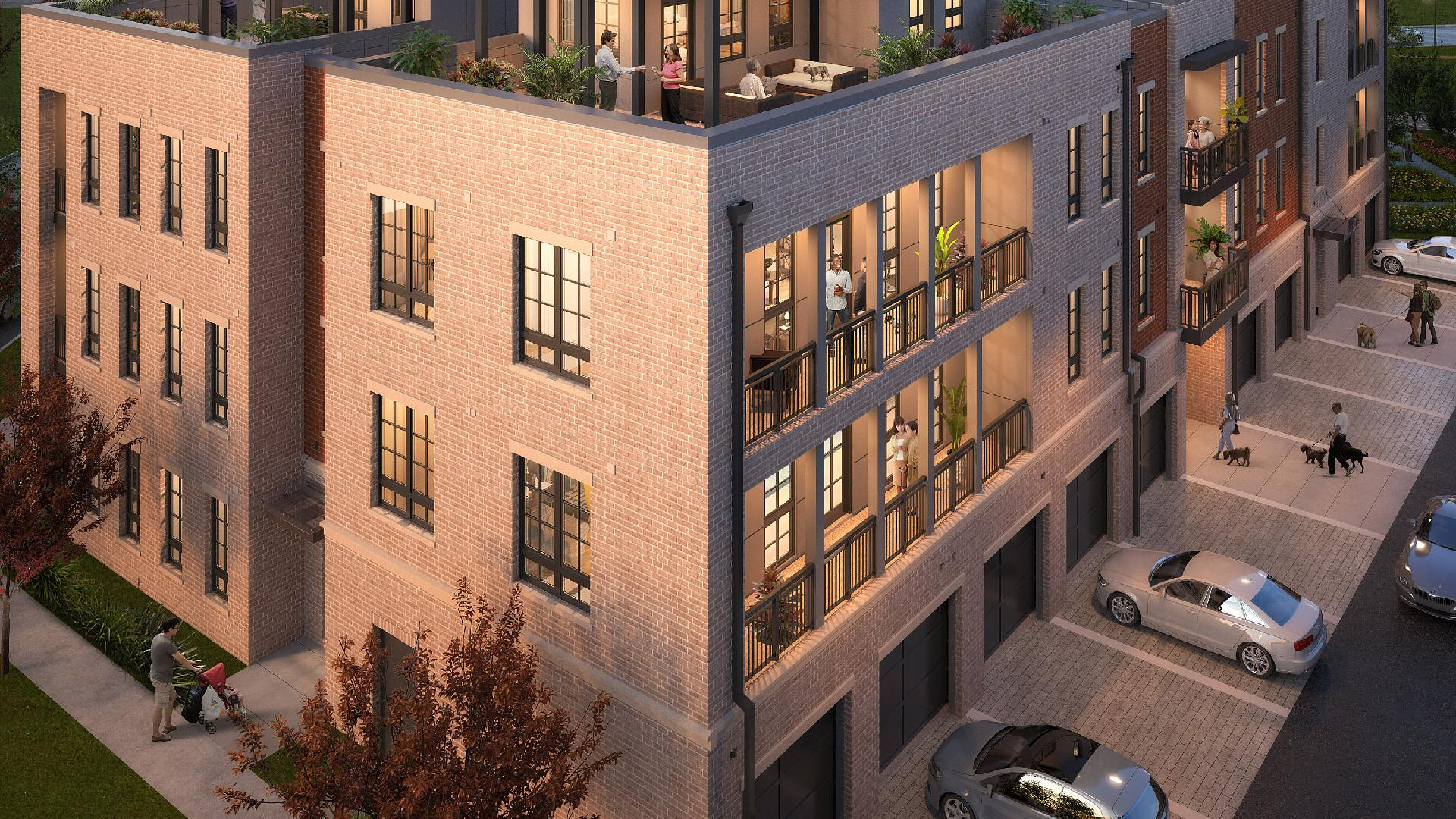 Lofts at Edge-on-Hudson building two
