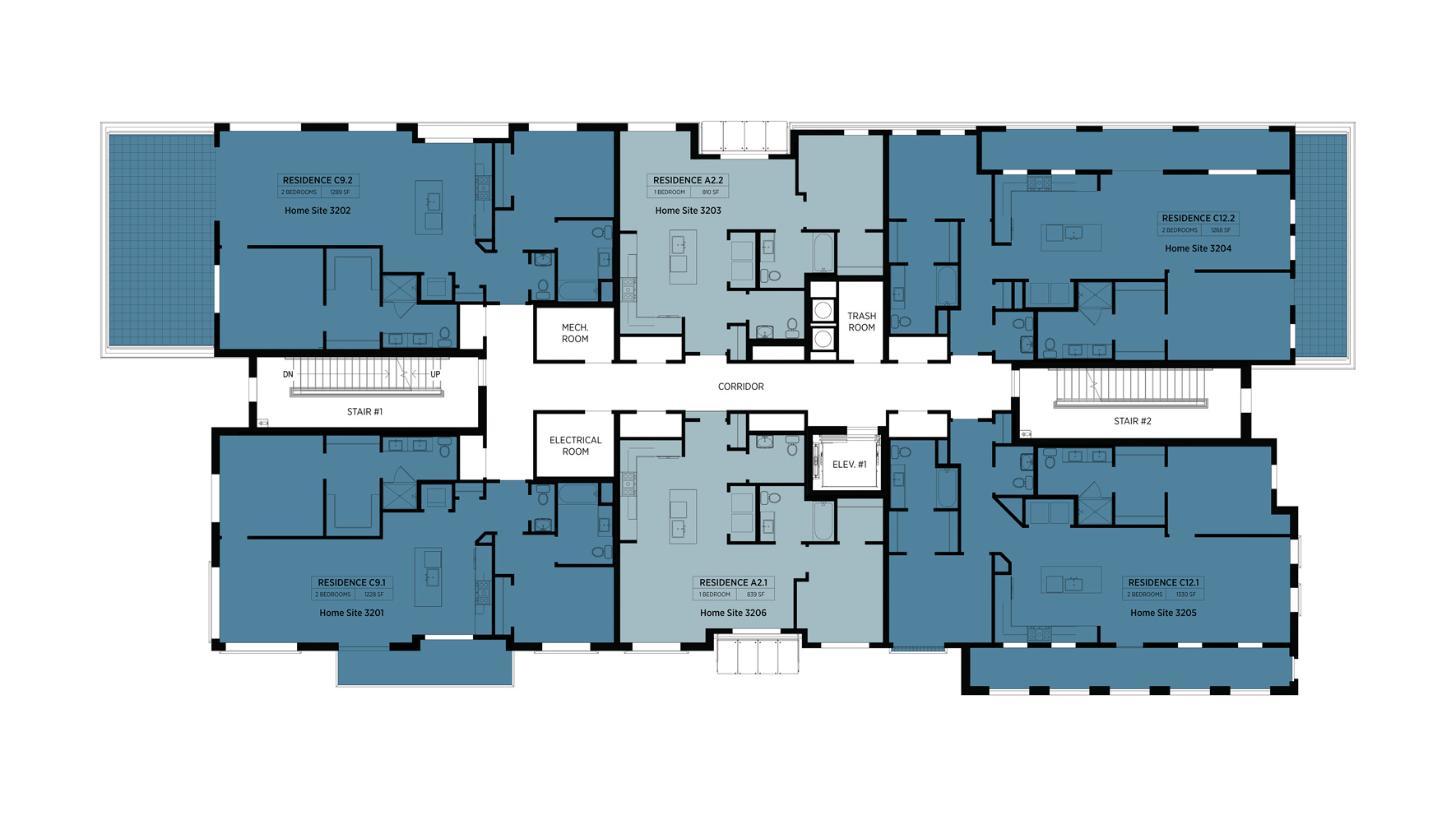 Lofts at Edge-on-Hudson - Building III - 2nd Floor