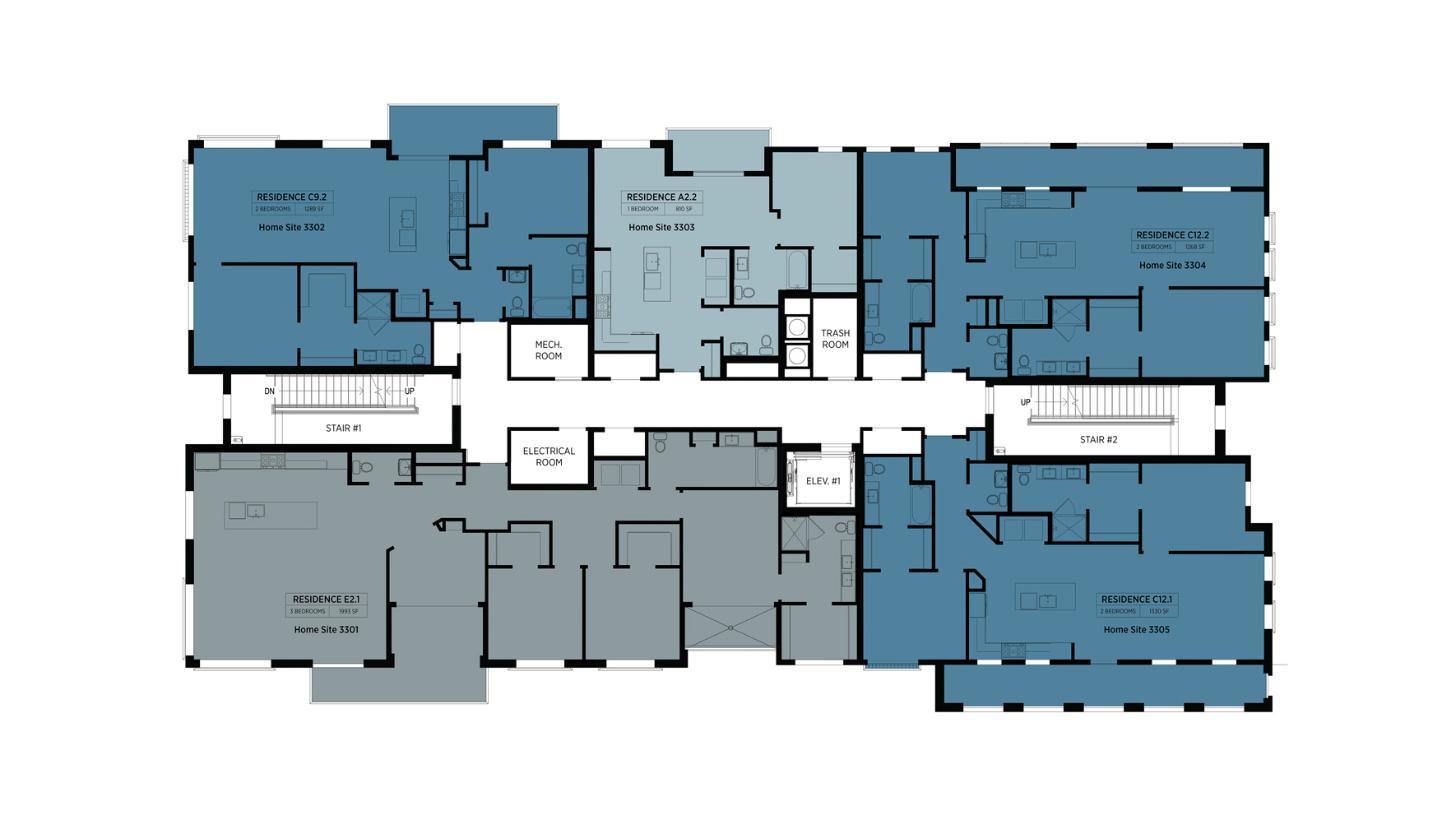 Lofts at Edge-on-Hudson - Building III - 3rd Floor