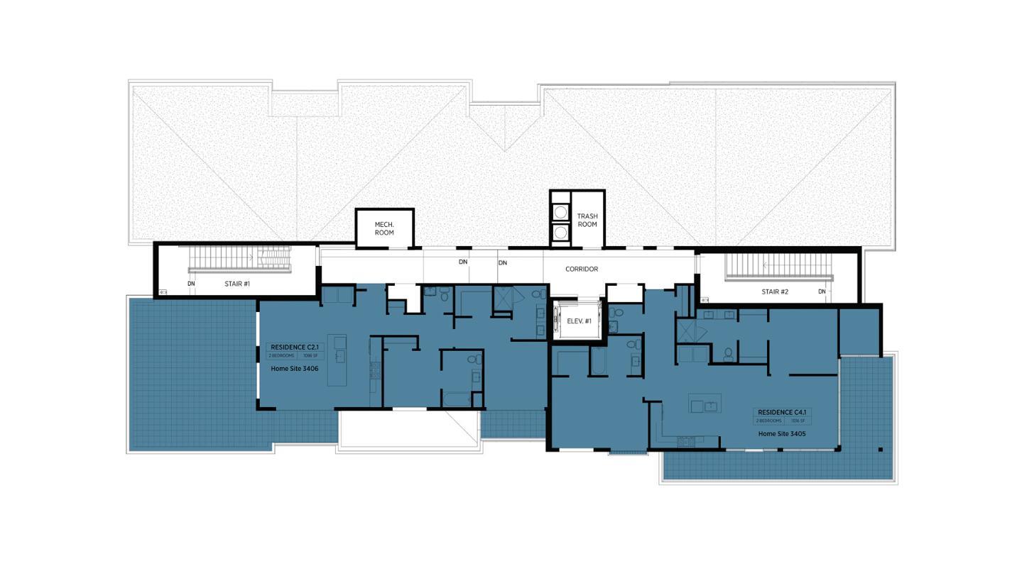 Lofts at Edge-on-Hudson - Building III - 4th Floor