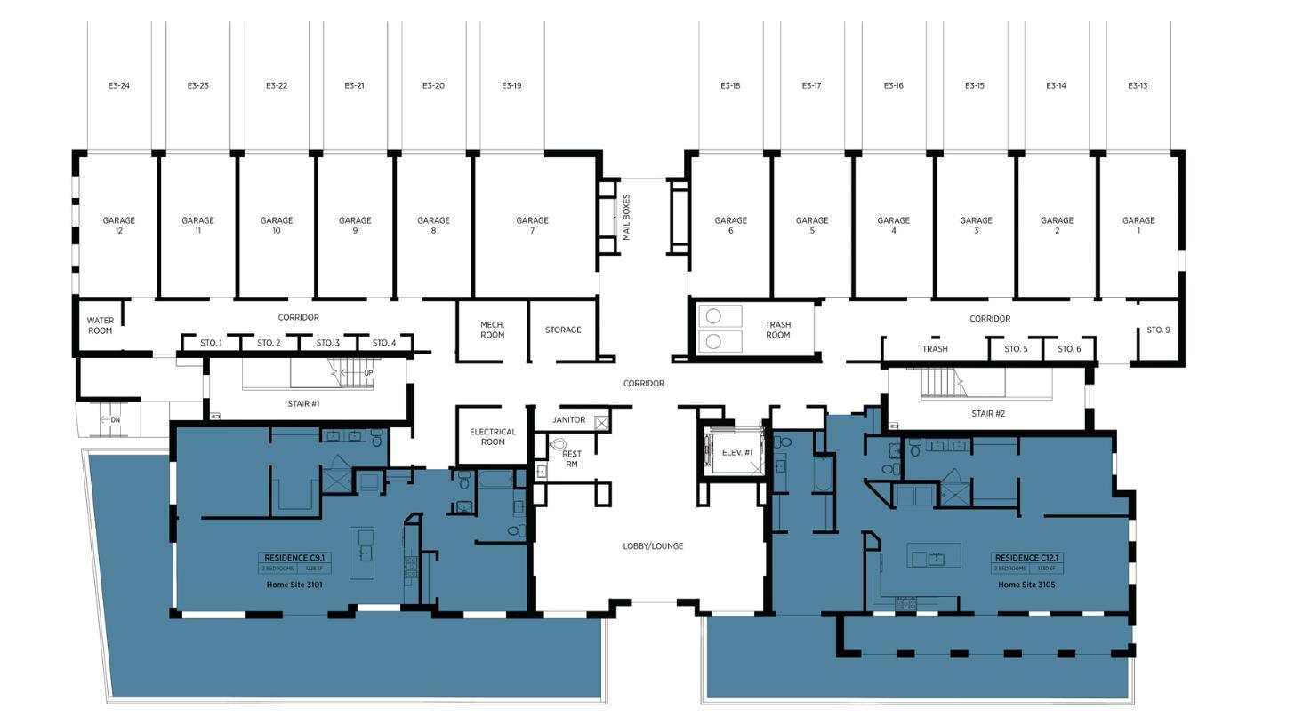 Lofts at Edge-on-Hudson - Building III - 1st Floor