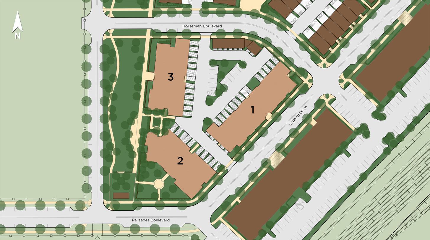 Lofts at Edge-on-Hudson Site Plan