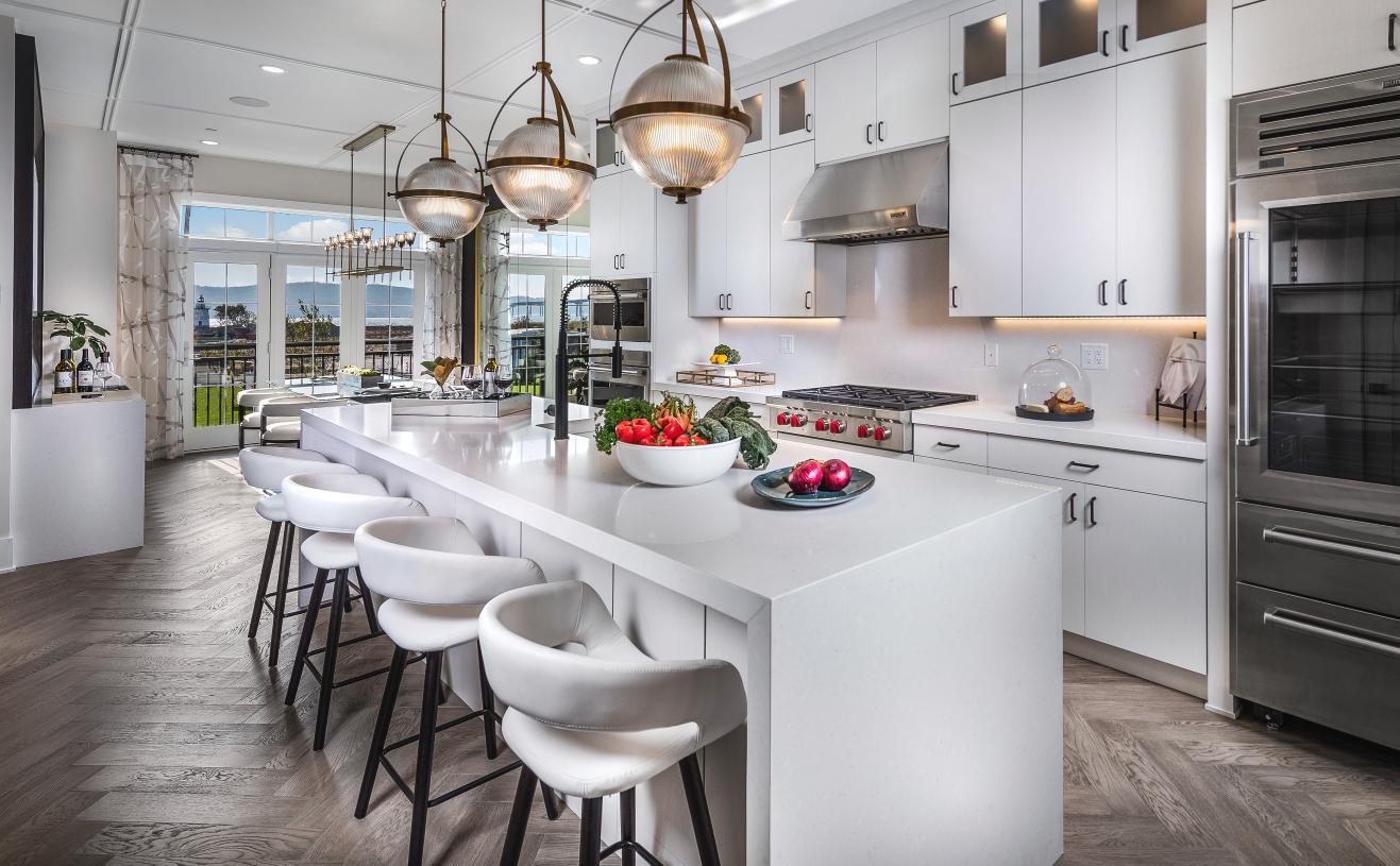 The Carroll kitchen