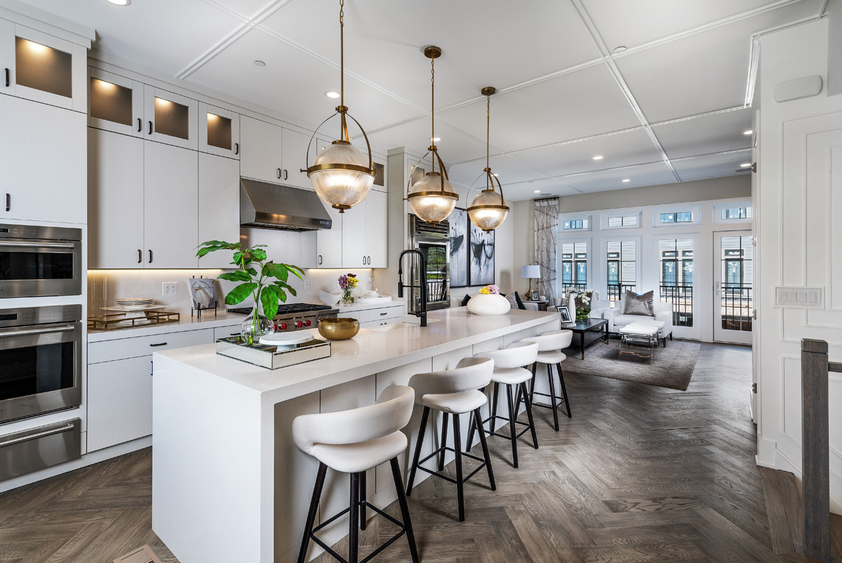 The Carroll kitchen is the heart of the home