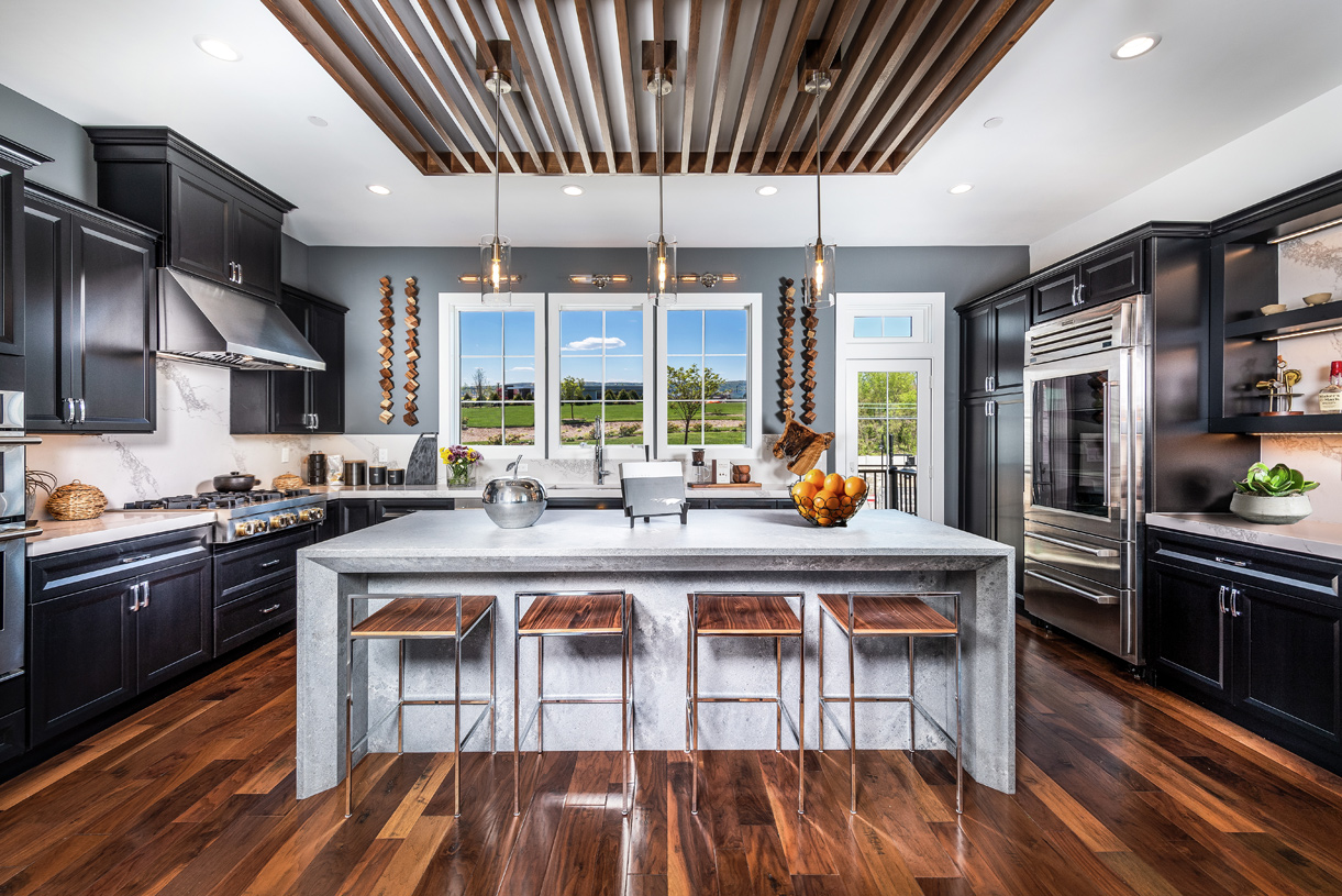 A stunning kitchen for the professional chef or home cook