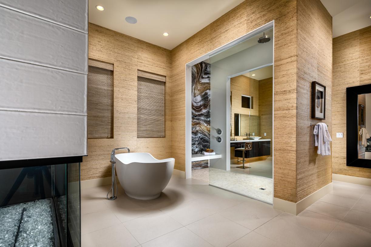 Sumptuous primary baths