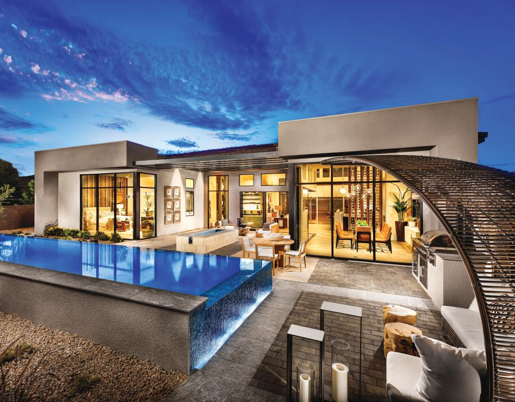 Expansive backyards great for entertaining