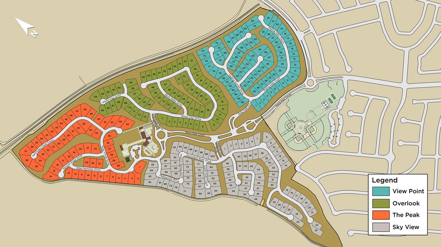 Mesa Ridge Overall Site Plan