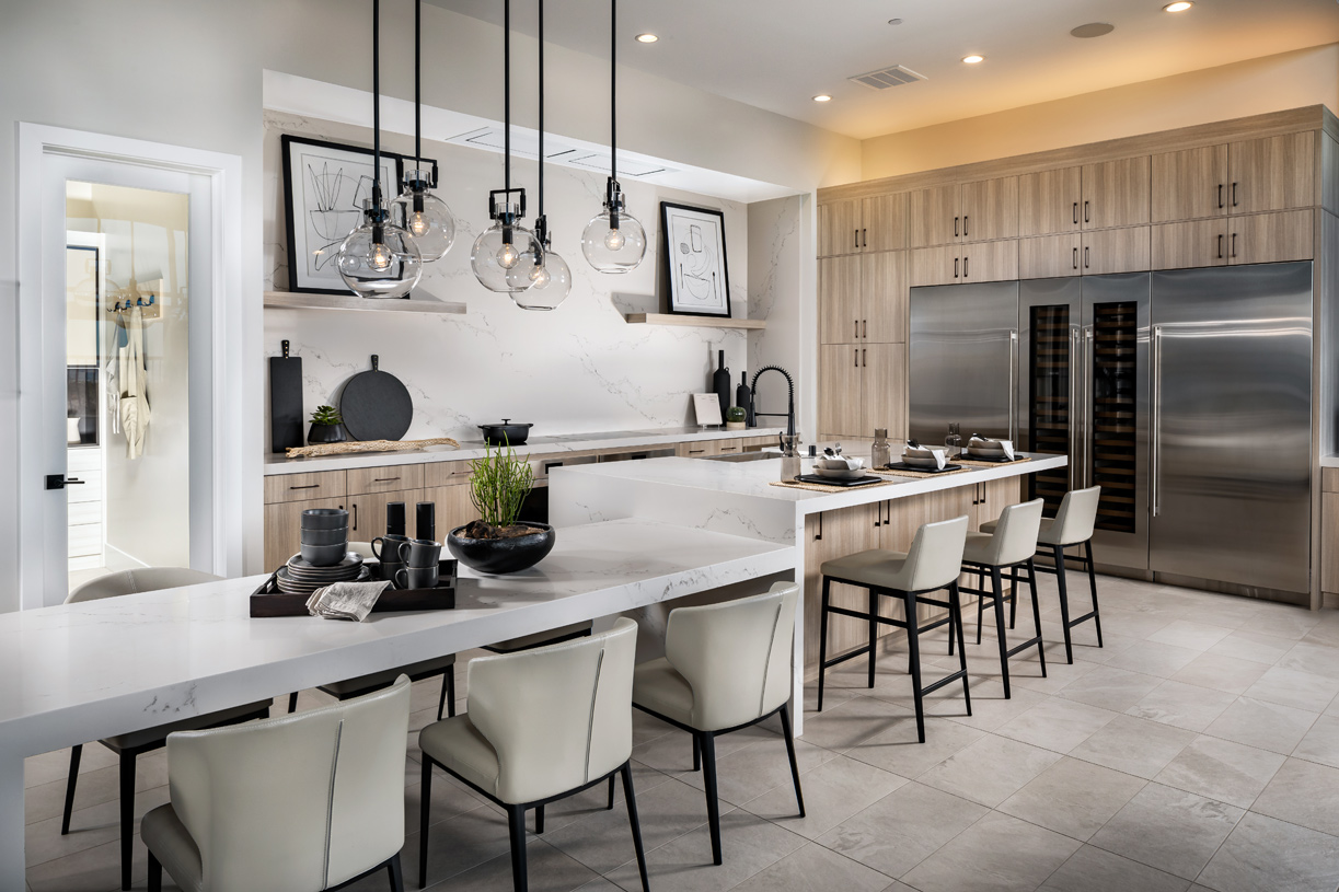 Gourmet kitchen with plenty of counter and cabinet space