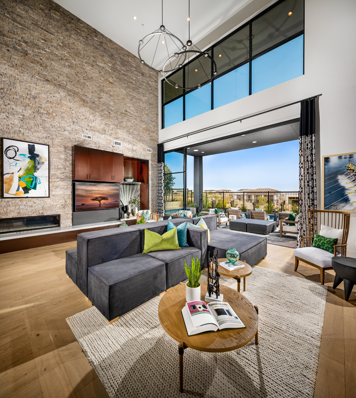 Large open-concept great room