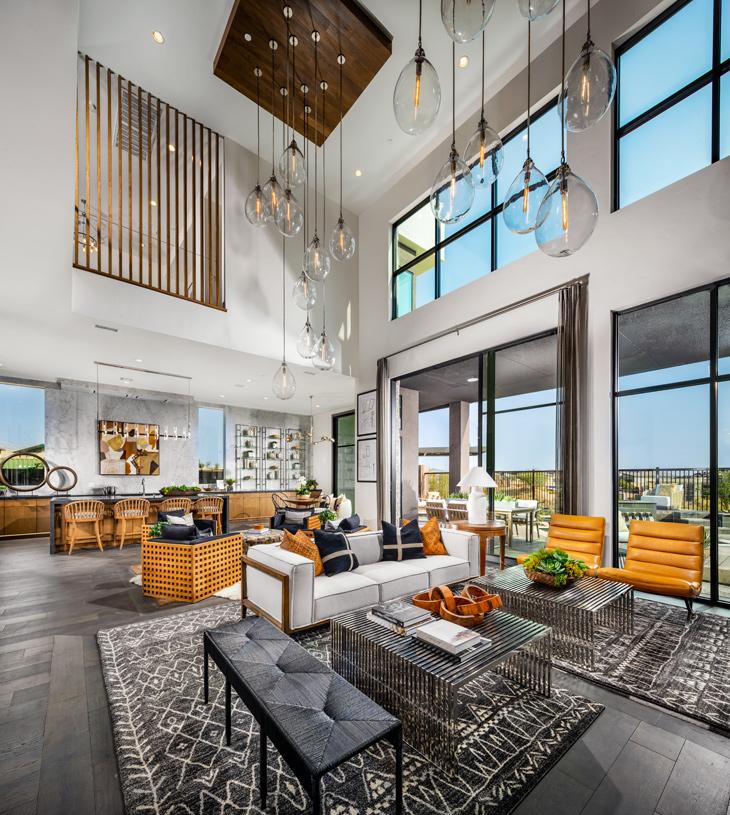Large open-concept floor plan
