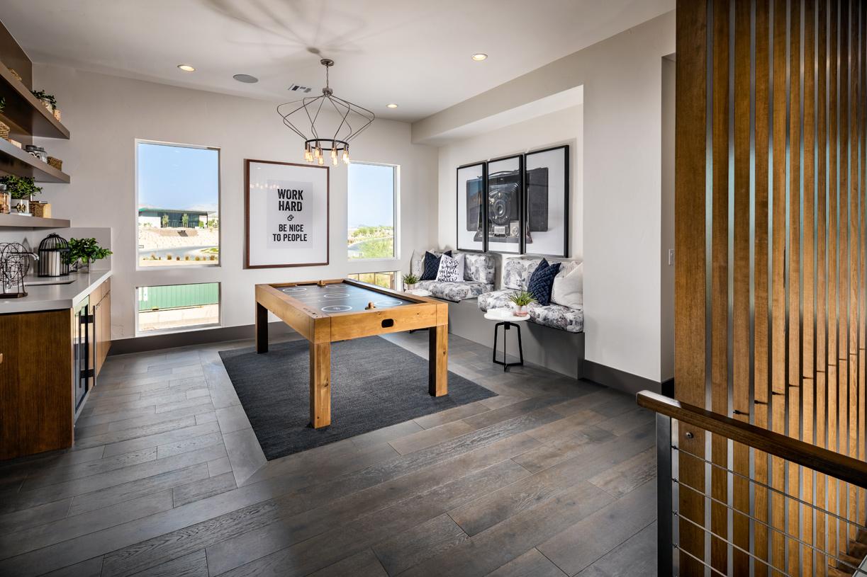 Spacious bonus room can be used as a loft