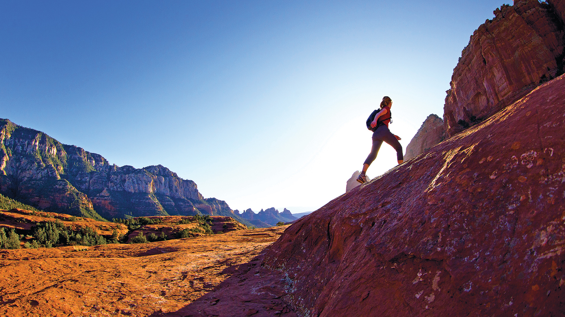 Go hiking at one of the many nearby trails