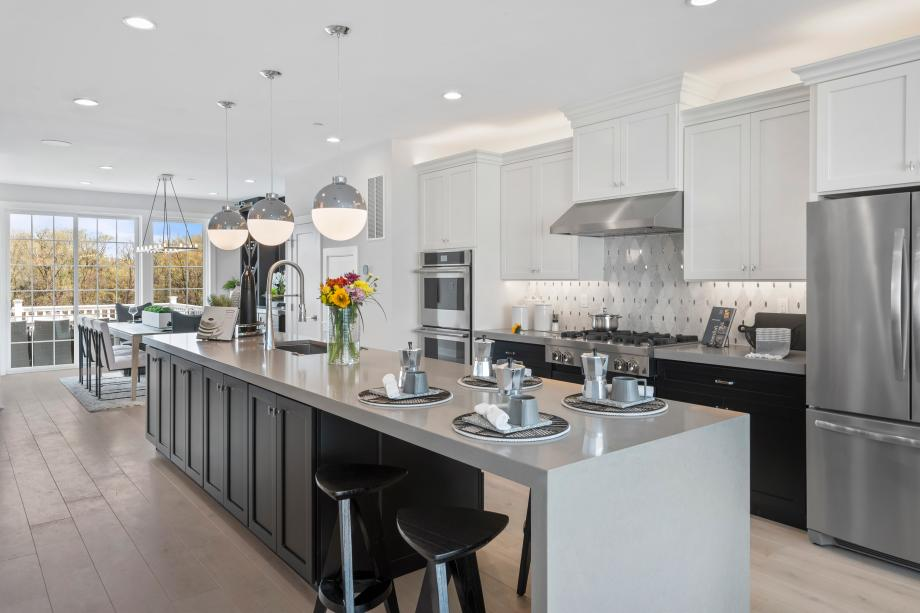 Briercliff's central kitchen is the heart of the home