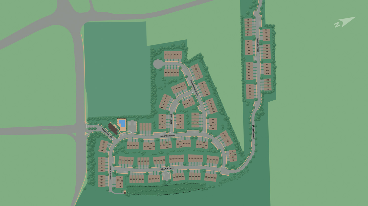 The Grove at Upper Saddle River Overall Site Plan