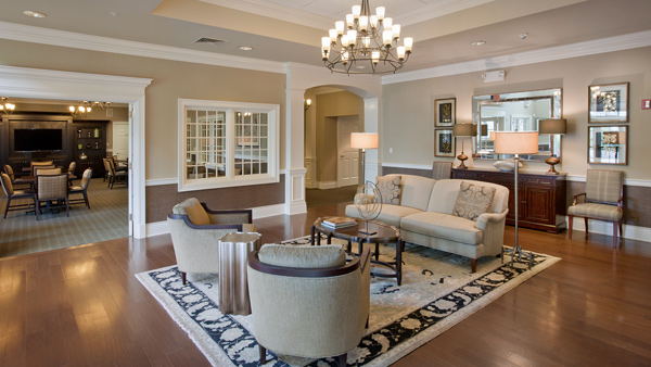 Welcome to the Regency at Monroe community clubhouse, endless amenities await you