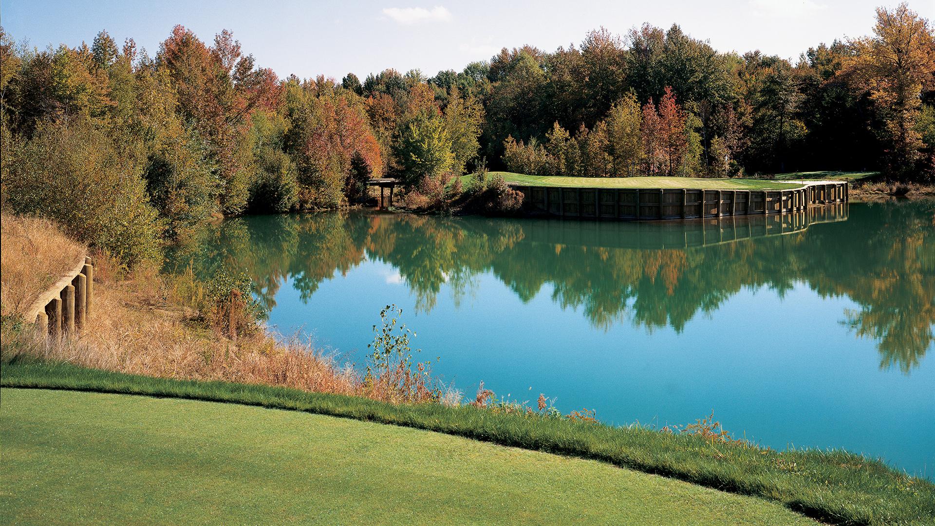 Arnold Palmer-designed golf course