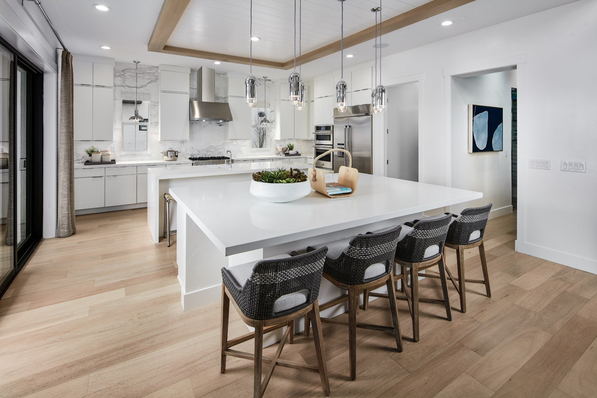 Amazing Kinsey kitchen with two center islands