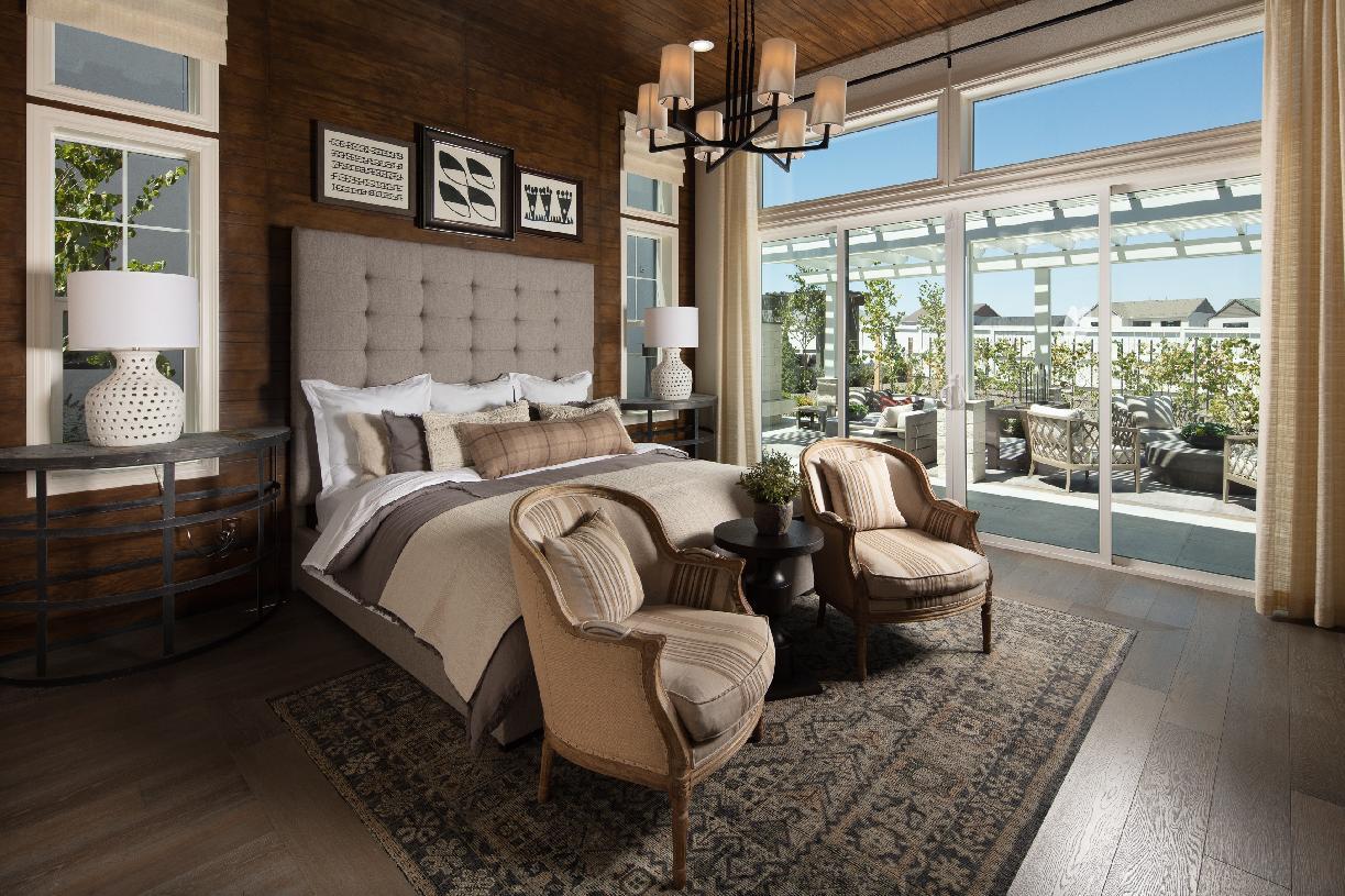 Allure primary bedroom