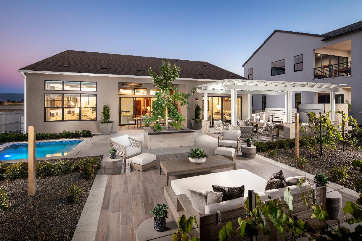 Allure backyard
