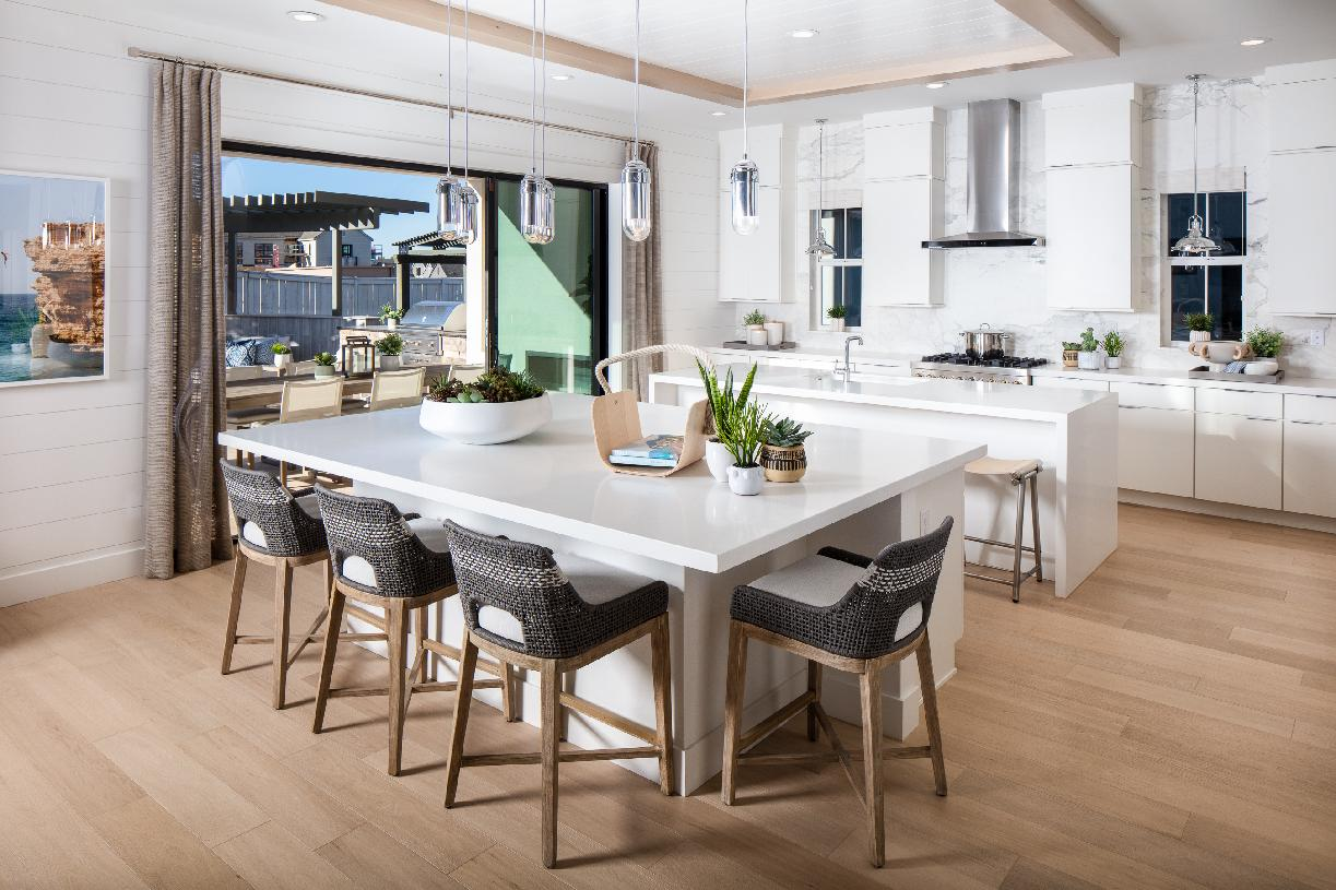 Kinsey chef's kitchen with outdoor access
