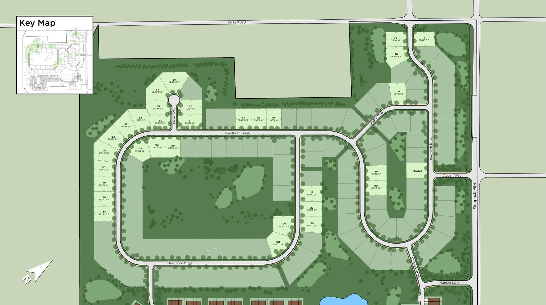 Reserve at Center Square - The Estates Collection Site Plan