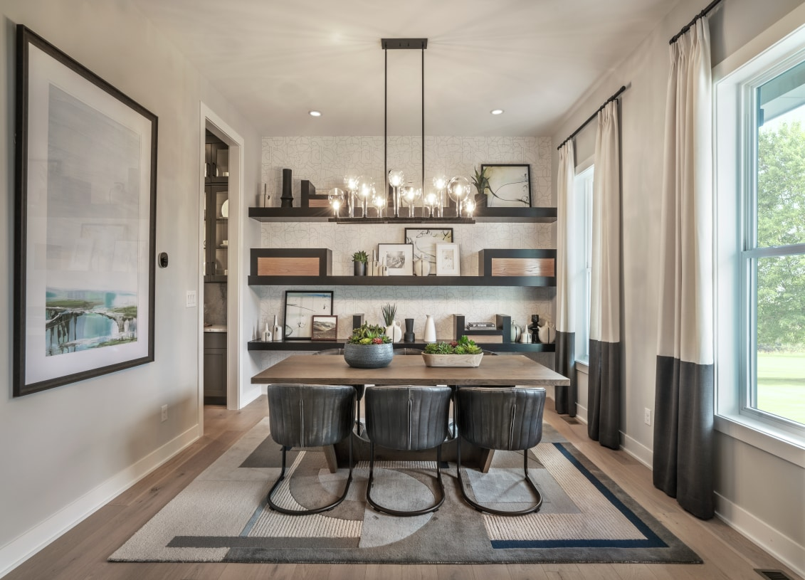 Formal dining room for entertaining
