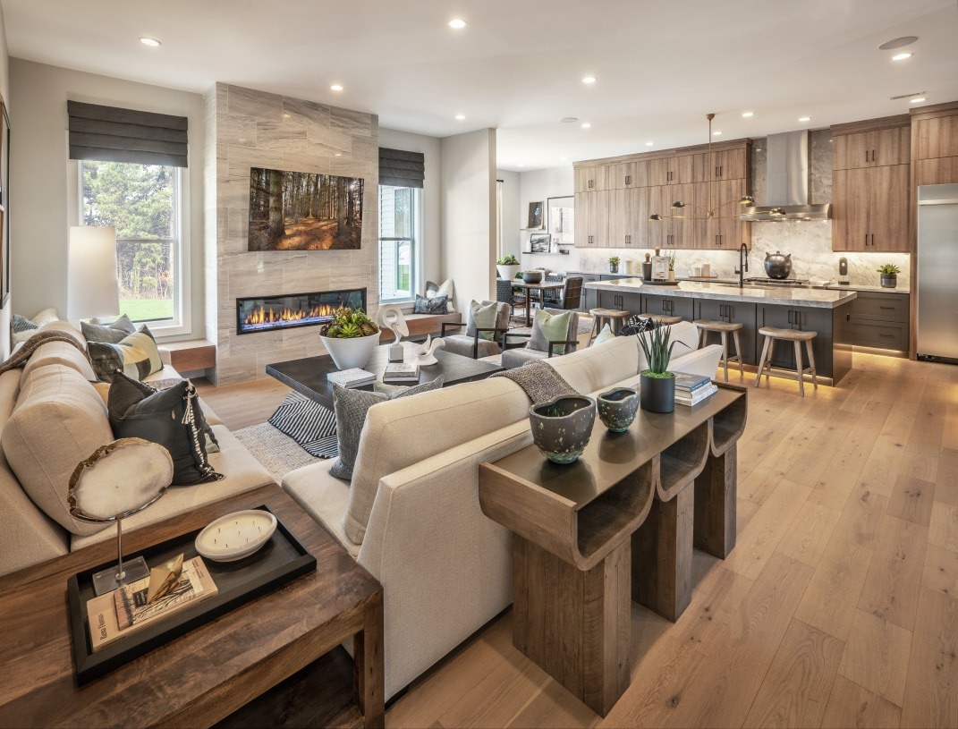 Open-concept floor plan designed for how you live