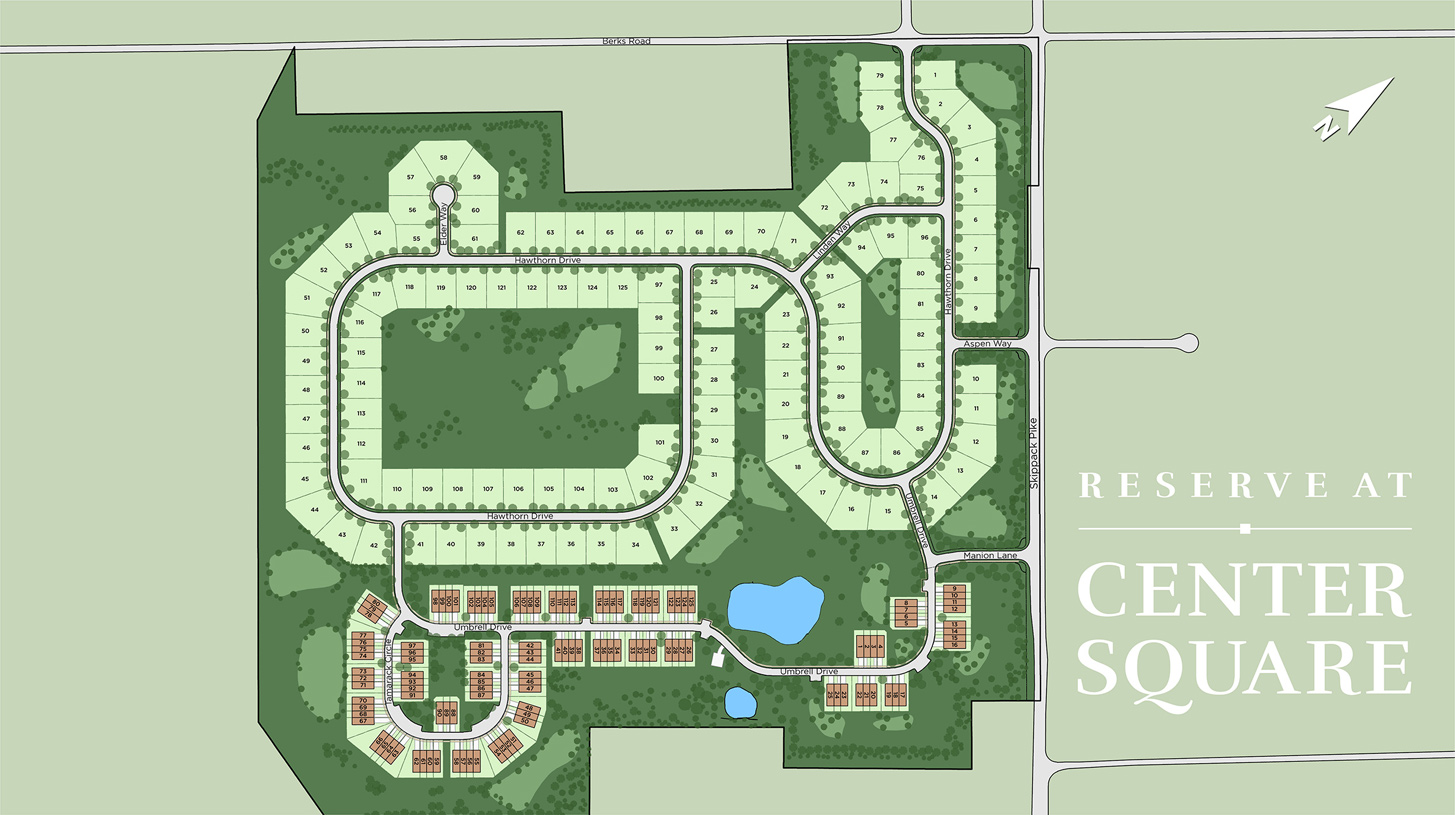 Reserve at Center Square Overall Site Plan