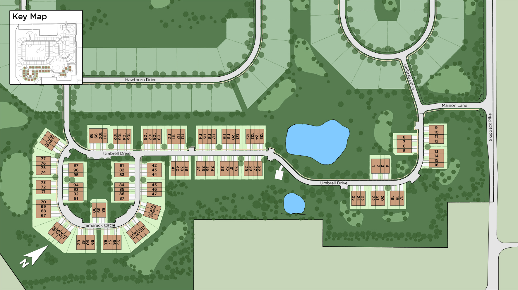 Reserve at Center Square - The Villages Collection Site Plan