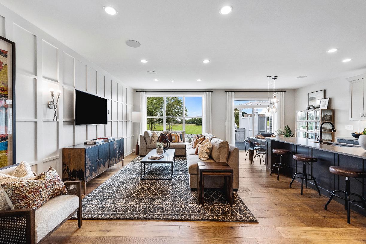 Barbour open-concept floor plan