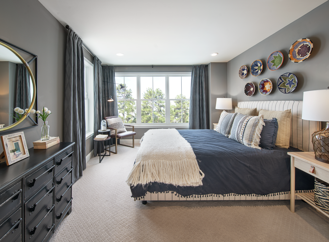 Generously-sized secondary bedroom