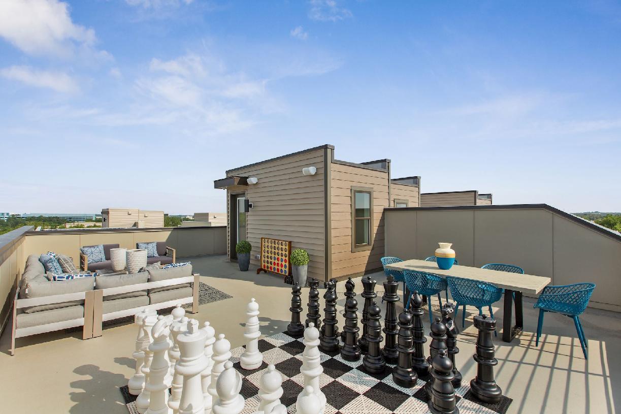 Walney rooftop terrace