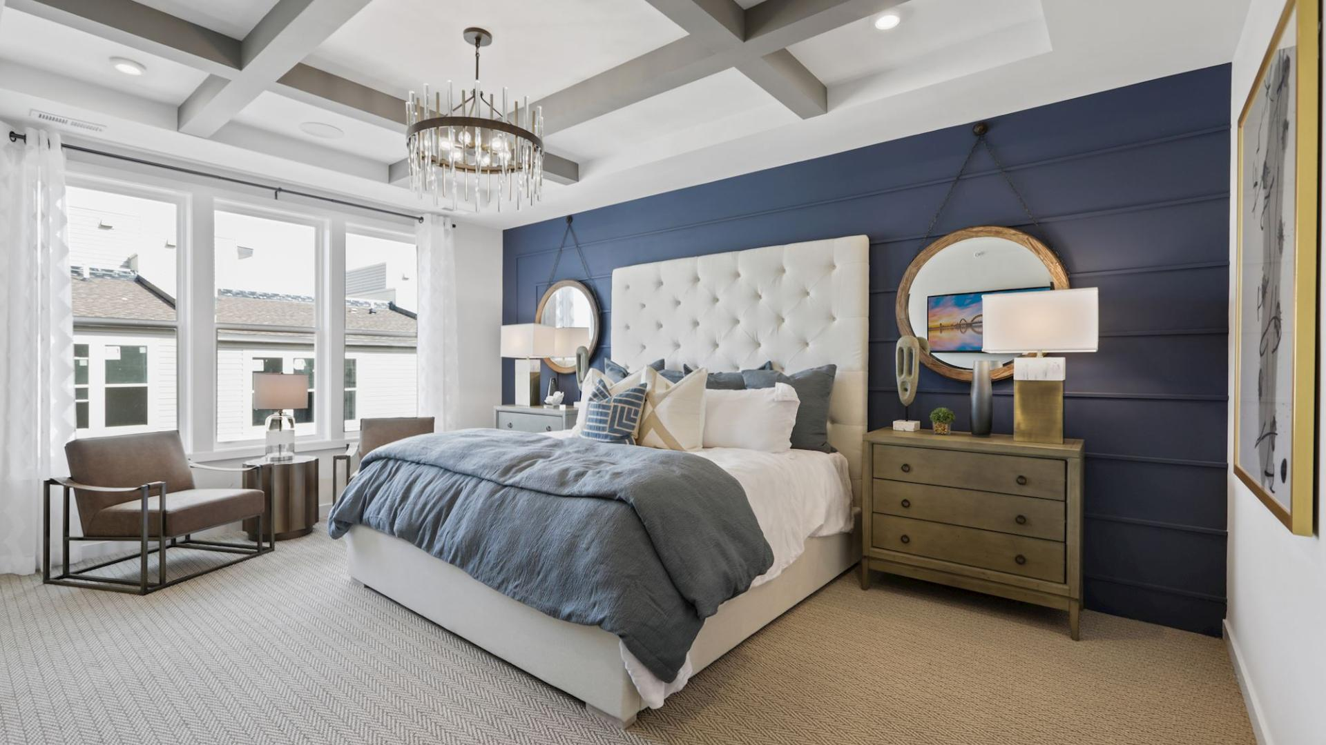Model home primary suite