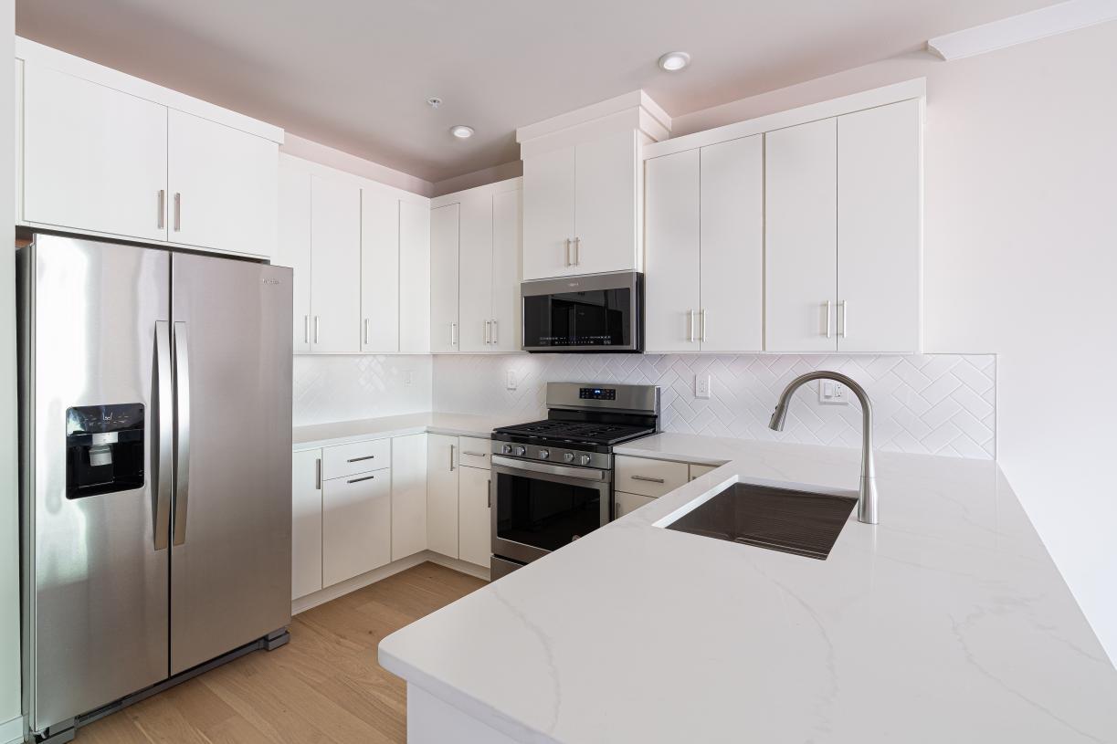 Alternate kitchen layout