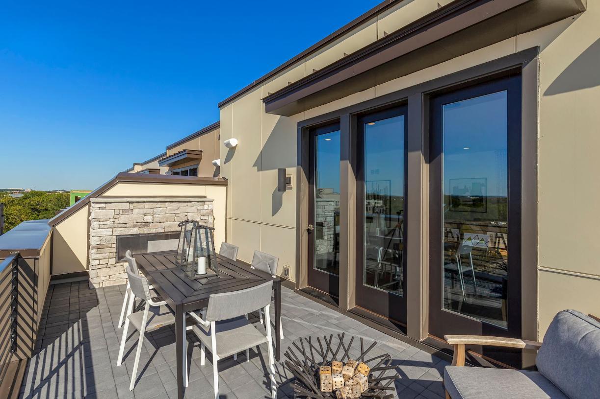 Willard rooftop terrace