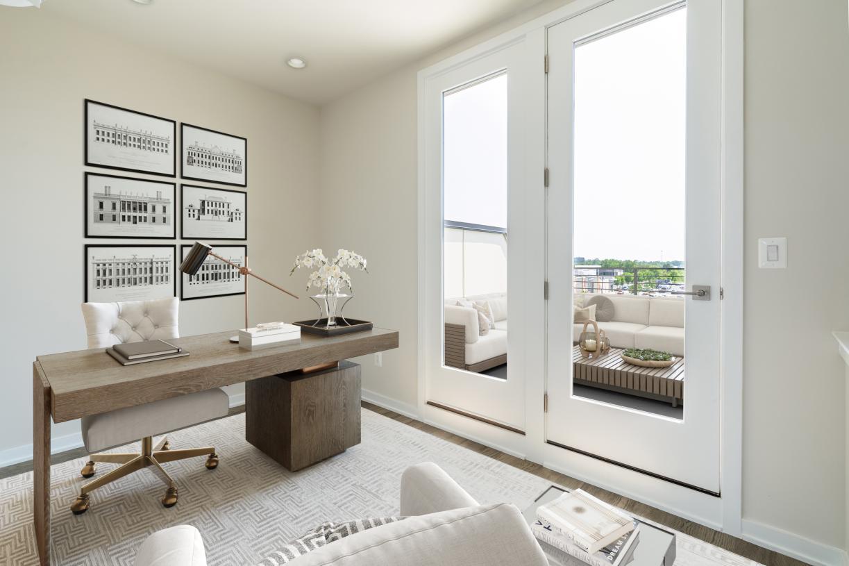 Northridge loft area perfect for an office!