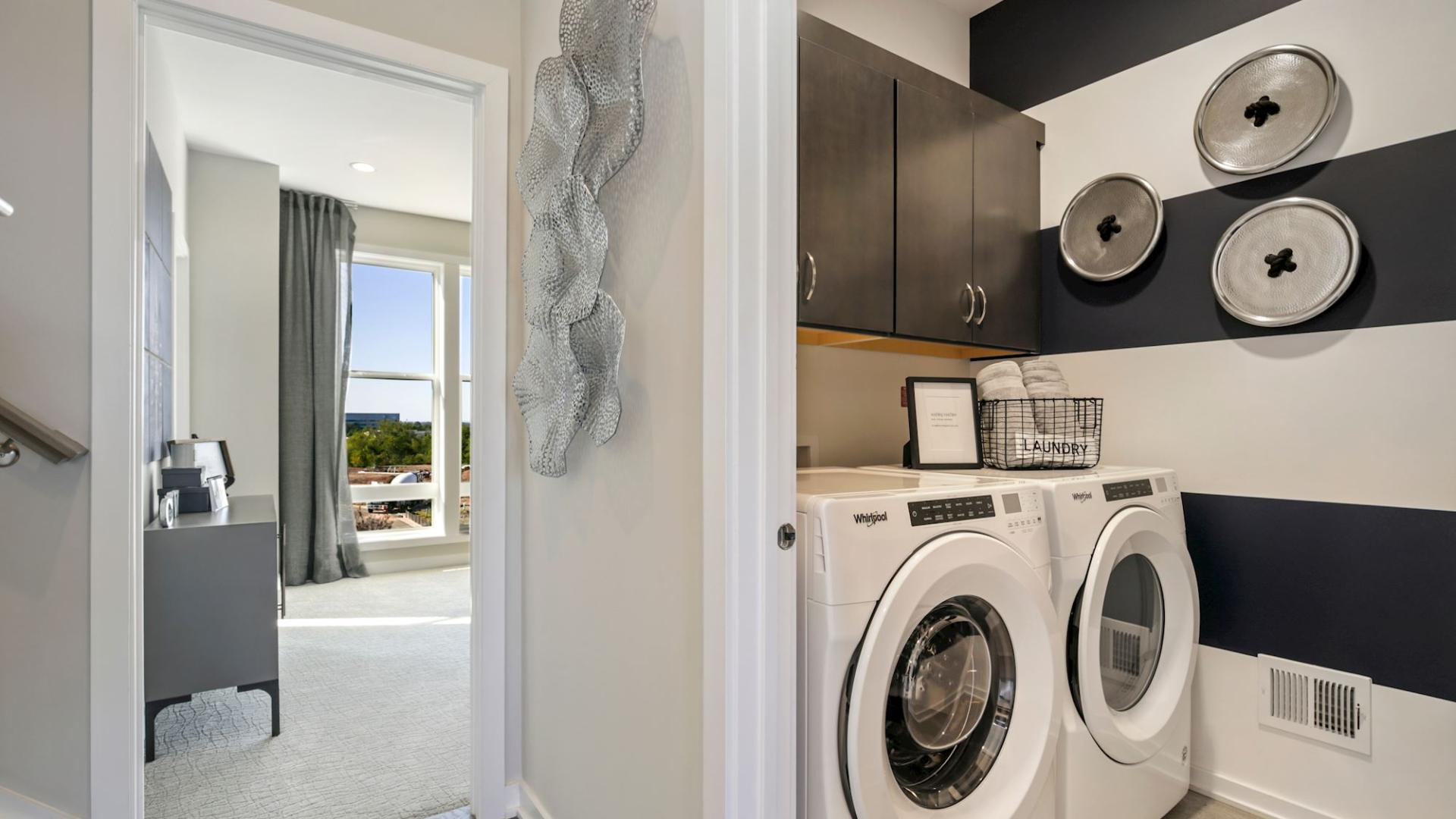 Newbrook laundry room