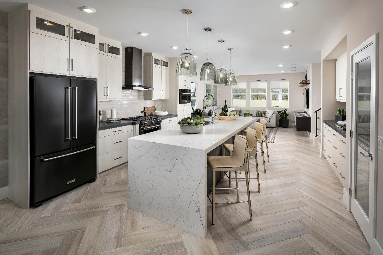 A-3 kitchen with large center island