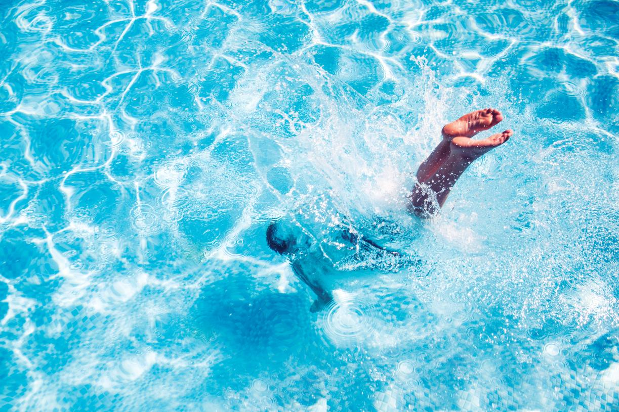 Large community pool for residents to enjoy
