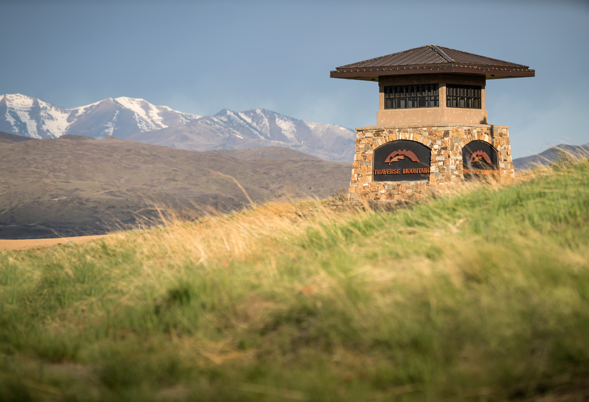 Located in the beautiful Traverse Mountain master plan community