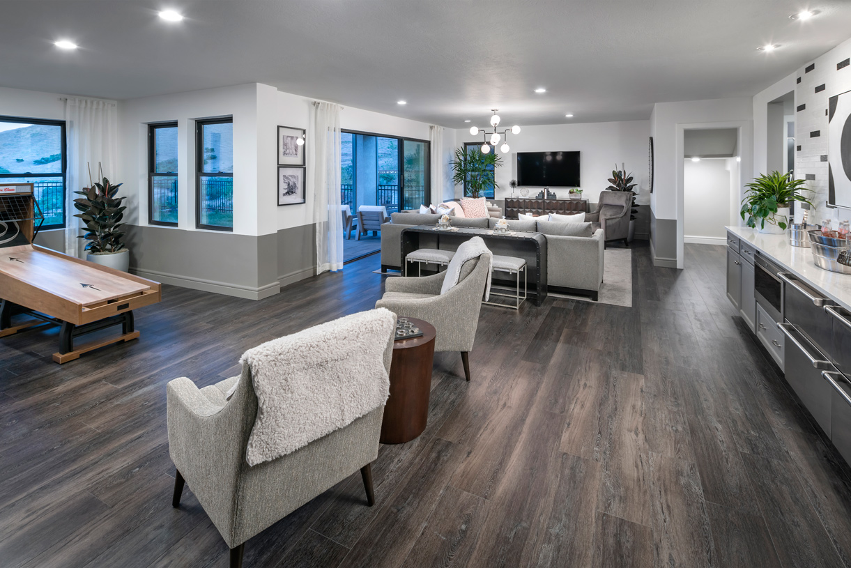 Optional finished basements for additional living and entertaining