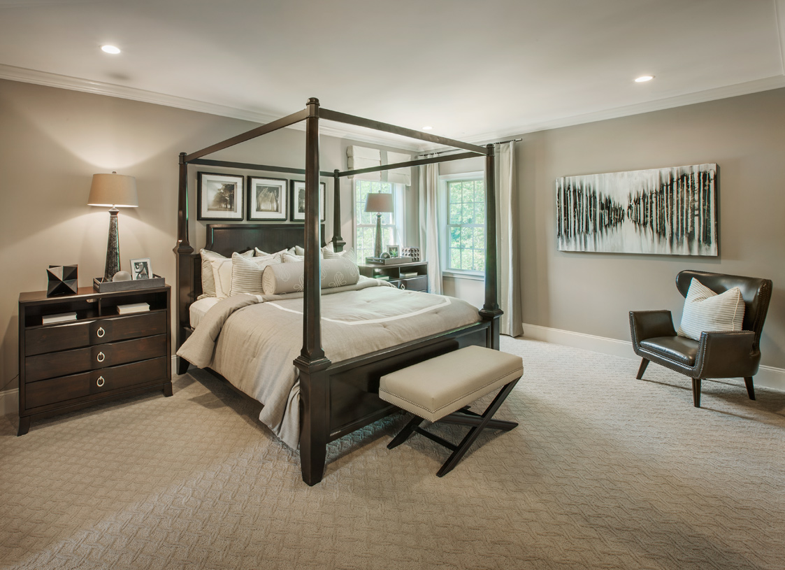 Relax in your primary bedroom suite