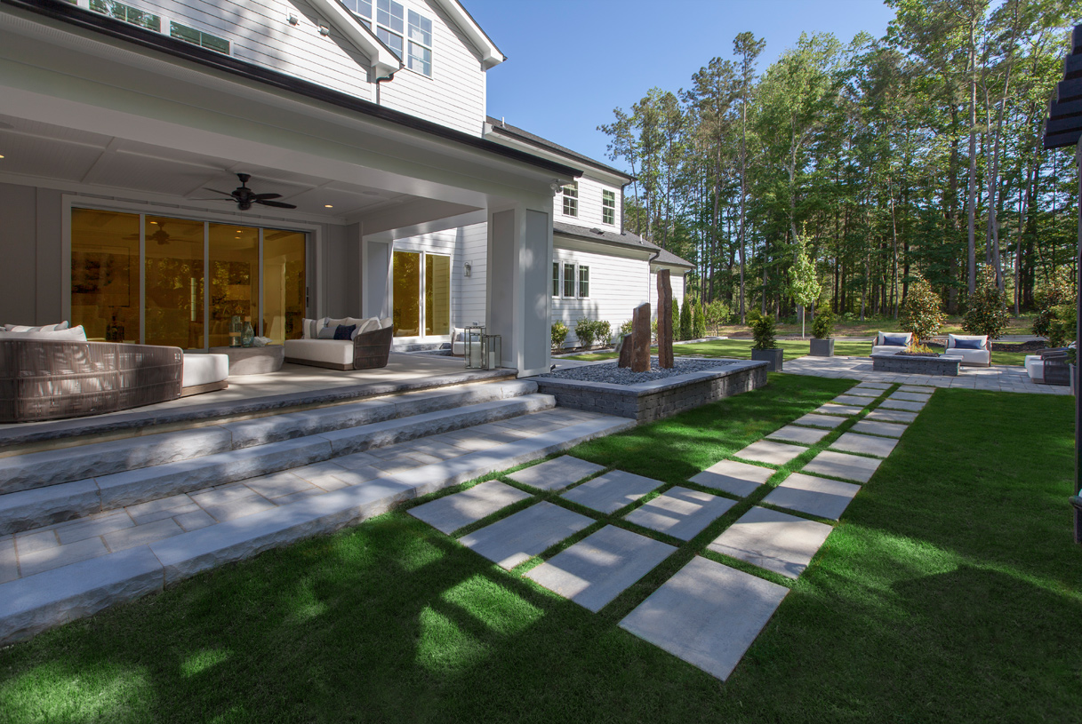 Stallworth outdoor living area