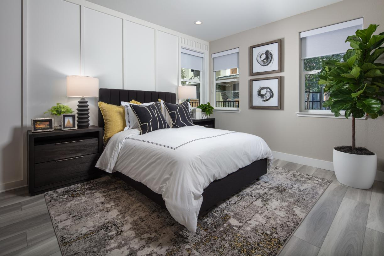 Three additional bedrooms for kids, guests and optional flex space