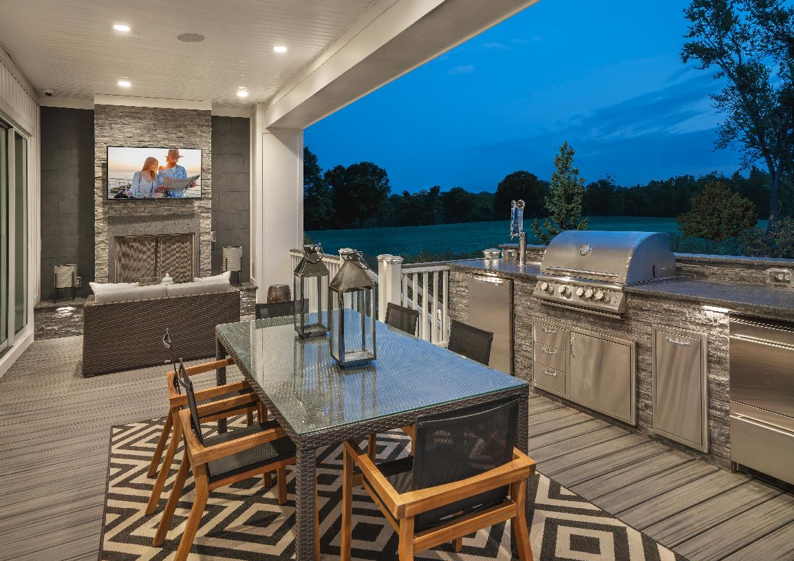 Luxury outdoor living spaces, great for entertaining