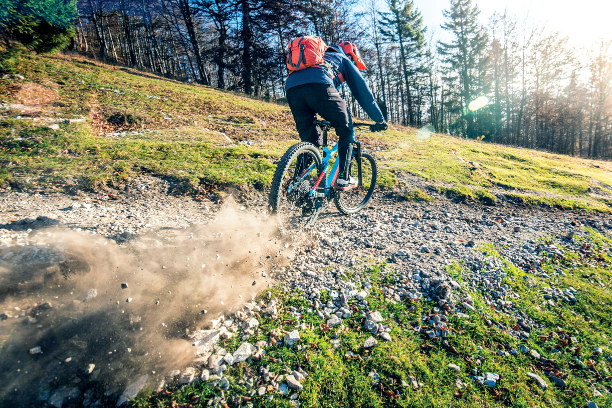 Mountain bike at one of the many nearby hiking and biking trails